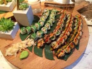 Catering at Asian Mint - The Tornado Roll