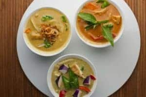 Curry Dishes from Asian Mint, Dallas TX