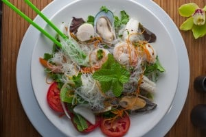 Asian Seafood Salad from Asian Mint, Dallas TX