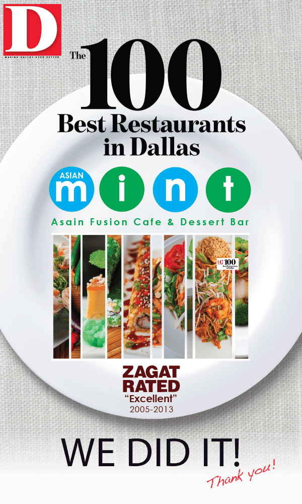 The 100 Best Restaurants in Dallas. WE DID IT!