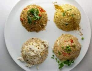 Varieties of Rices from Asian Mint, Dallas TX