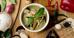 Green Curry from Asian Mint, Dallas TX