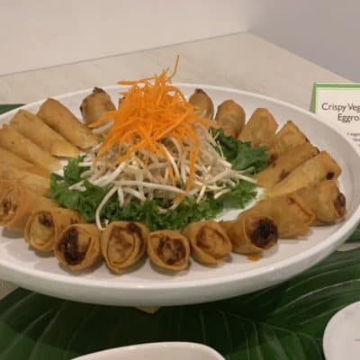 Asian Mint Catering - Crispy Vegetable Eggrolls