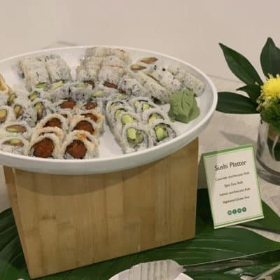 Asian Mint Catering - Sushi Platter