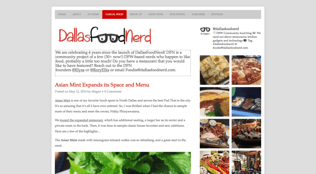 Asian Mint on Dallas Food Nerd