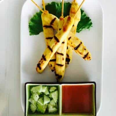 Chicken Satay from Asian Mint