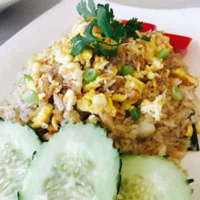 Crab Fried Rice from Asian Mint
