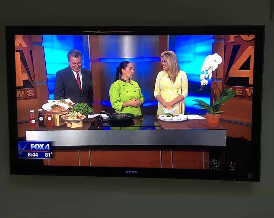 Nikky Phinyawatana on KDFW Fox 4 News #cookingwithnikky