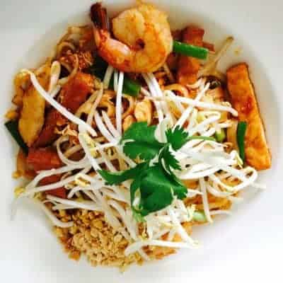 Shrimp Pad Thai from Asian Mint