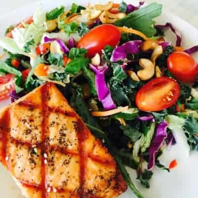 Salmon Salad from Asian Mint