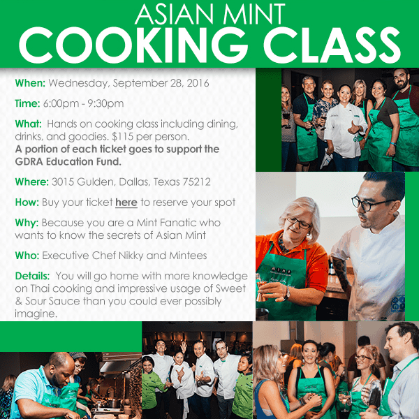 Asian Mint Cooking Class Ticket - Square