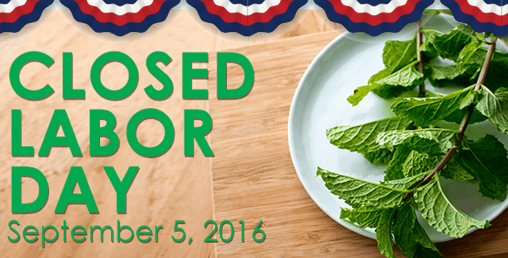 Asian Mint Will Be Closed on Labor Day