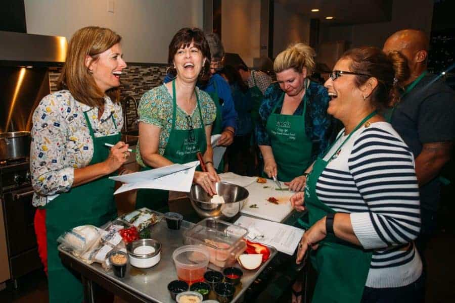 Photos from Asian Mint Cooking Class 2016