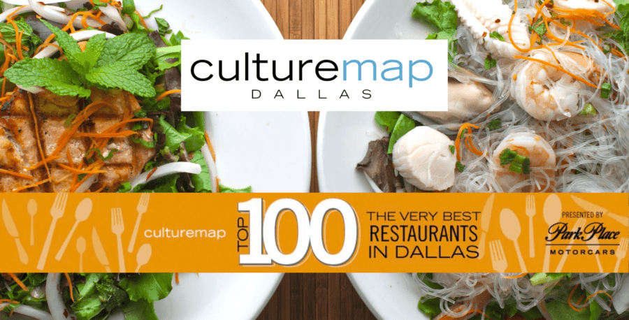 Culture Map's Top 100 Best Restaurants in Dallas