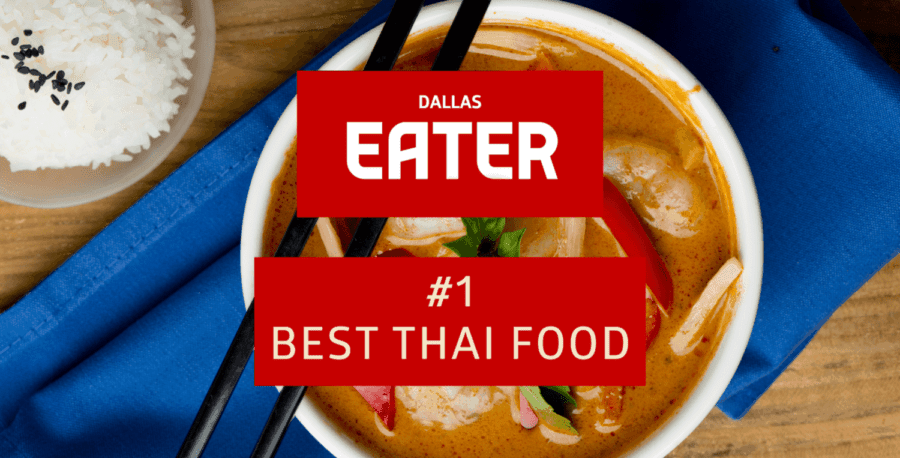 Dallas Eater: Asian Mint wins #1 Best Thai Food