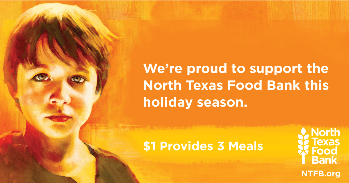 We support North Texas Food Bank