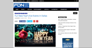 Focus Daily News and Asian Mint New Year's Eve Celebration