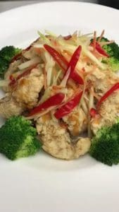 New Year's Eve Specials at Asian Mint: Golden Red Snapper Nuggets