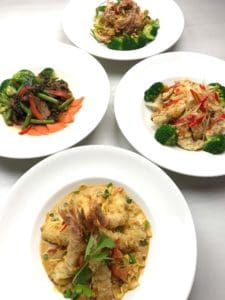 New Year's Eve Specials at Asian Mint: FOUR DISHES