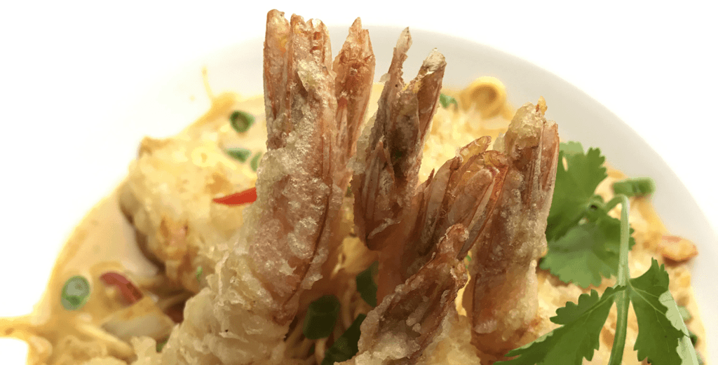 New Year's Eve Specials at Asian Mint: Shrimp Tempura