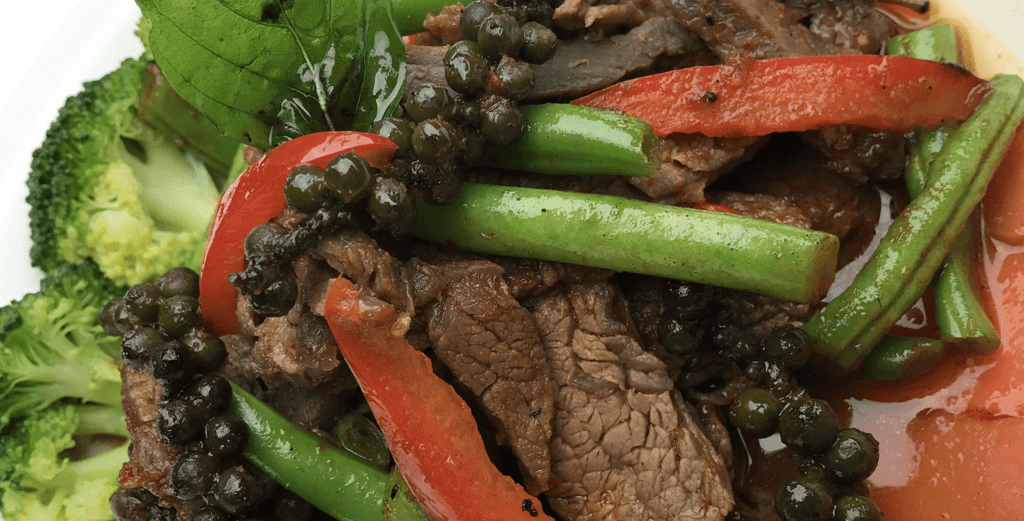 New Year's Eve Specials at Asian Mint: Pad Prik King Beef