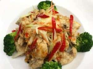 New Year's Eve Specials at Asian Mint: Red Snapper