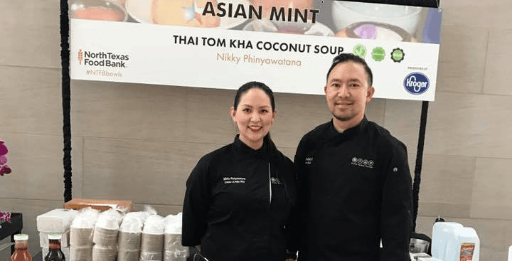 Asian Mint Supports North Texas Food Bank Event in Dallas, TX