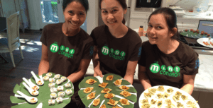 Asian Mint offers catering, Dallas TX