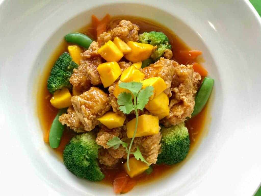 DFW Thai Restaurant Week: Mango Mandarin Chicken