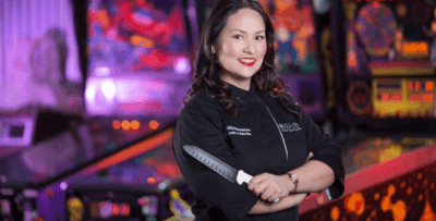 Asian Mint's Nikky Phinyawatana at Dallas $10K for Kids Charity Event