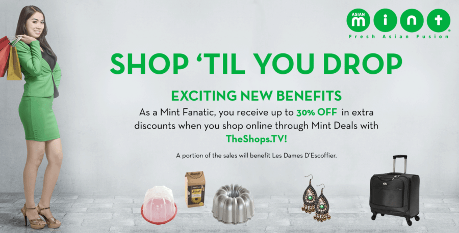 Mint Fanatics Receive up to an EXTRA 30% OFF