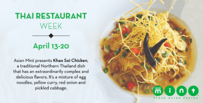 DFW Thai Restaurant Week