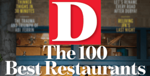 Accolades -100 Best Restaurants
