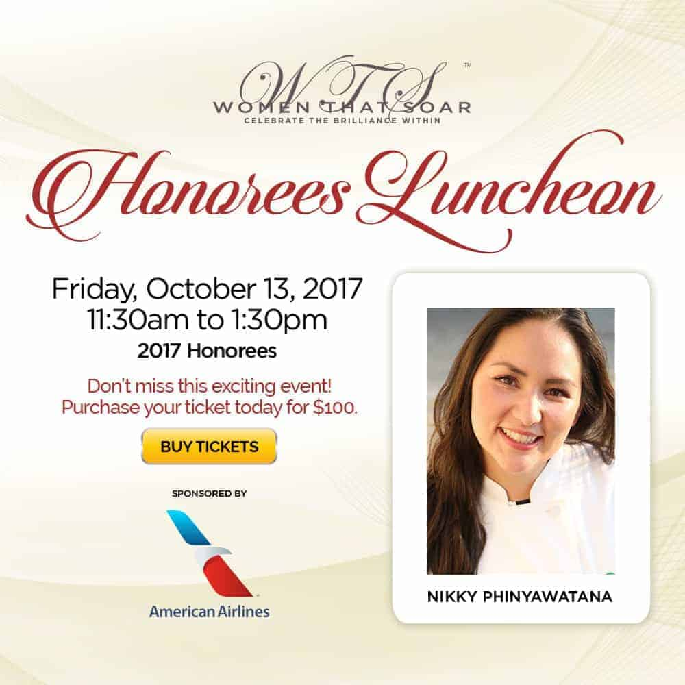 Nikky Phinyawatana, Women That Soar, Honorees Luncheon