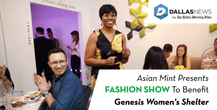 Asian Mint Featured for Fashion Show Benefit in Dallas News