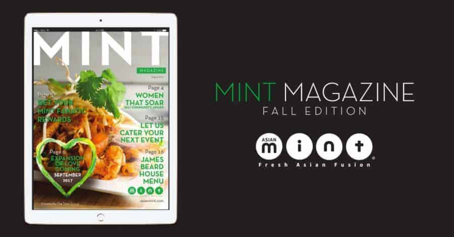 Mint Magazine Fall Edition–Out Now