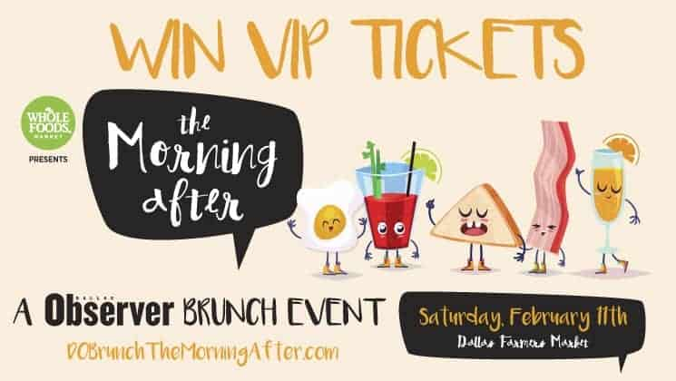 "Asian Mint Joins Dallas Observer's ""The Morning After"" Brunch"