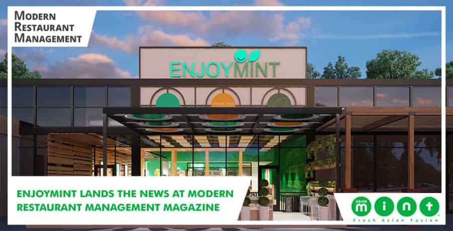 EnjoyMint Lands the News at Modern Restaurant Management Magazine