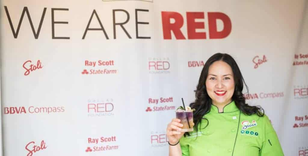 Asian Mint Hosts Dallas Red Foundation's February Donor Appreciation Brunch