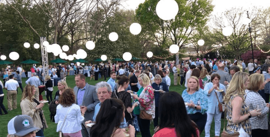 Asian Mint Celebrated Spring at Dallas Arboretum's Food and Wine Festival