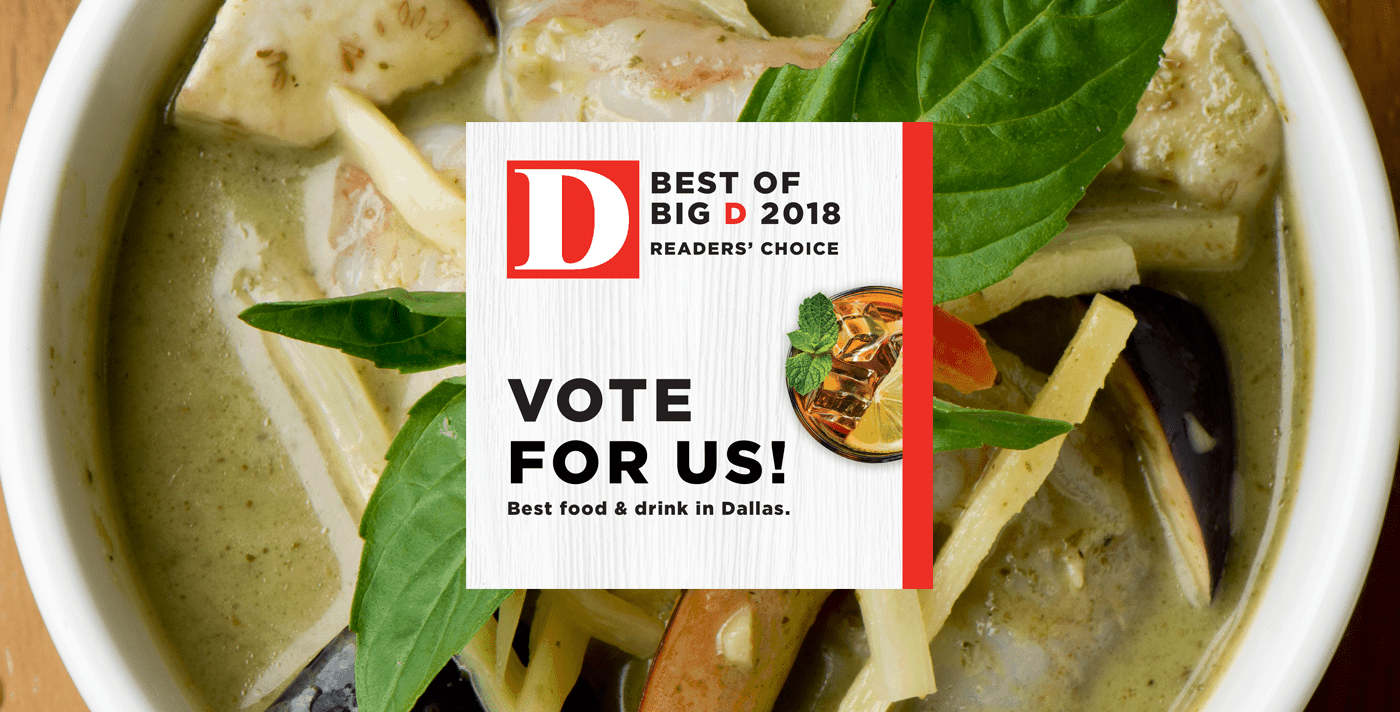 Vote for Asian Mint Best of Big D 2018