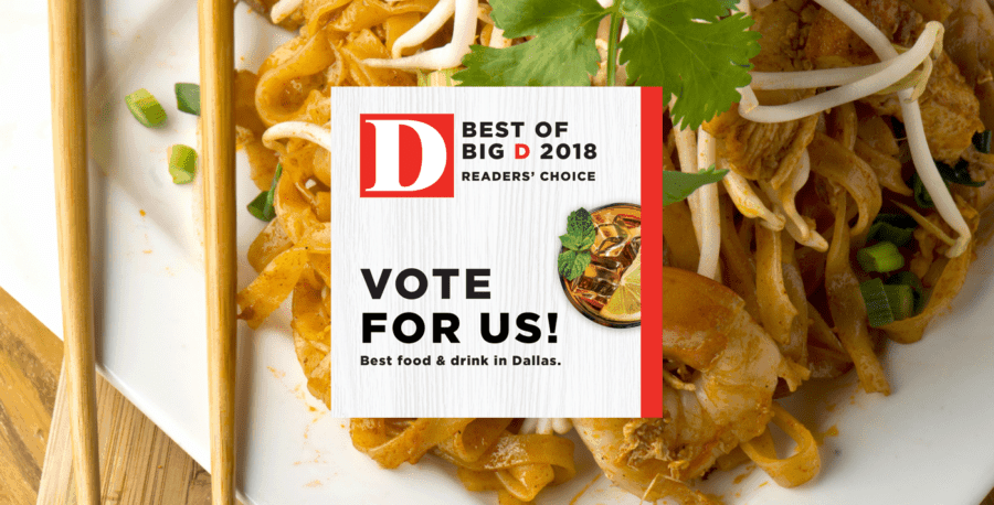 Asian Mint Is a 2018 Best of Big D Readers' Choice Poll Nominee