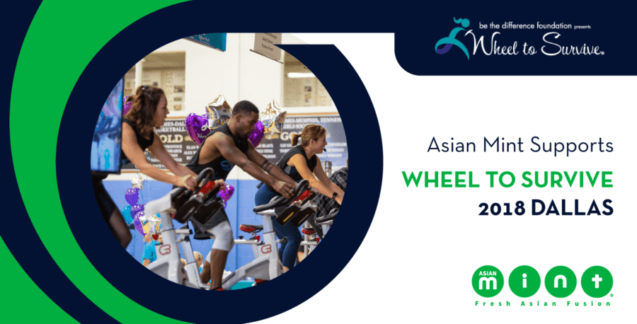 Asian Mint Supports Wheel to Survive 2018 Dallas