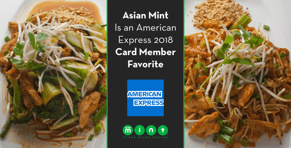 Asian Mint Is an American Express 2018 Card Member Favorite