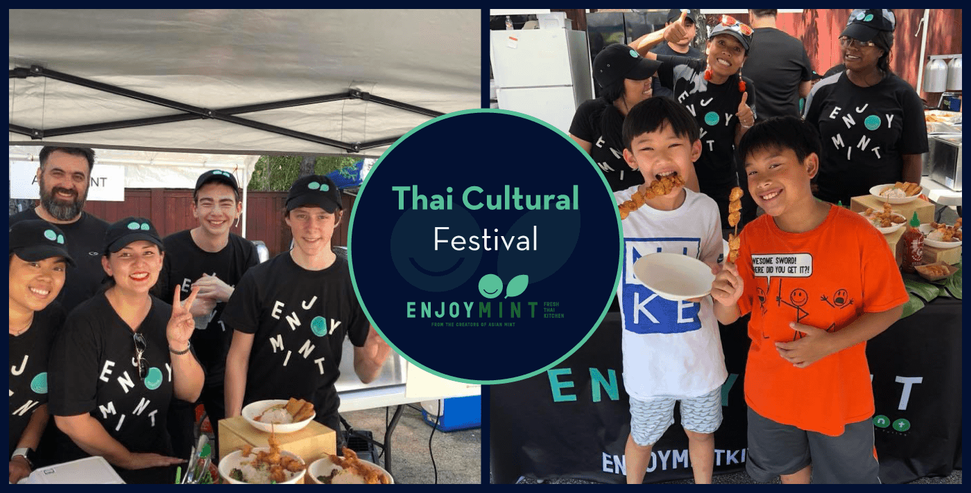 Asian Mint Joins the Celebration at Dallas Thai Culture and Food Festival 2018