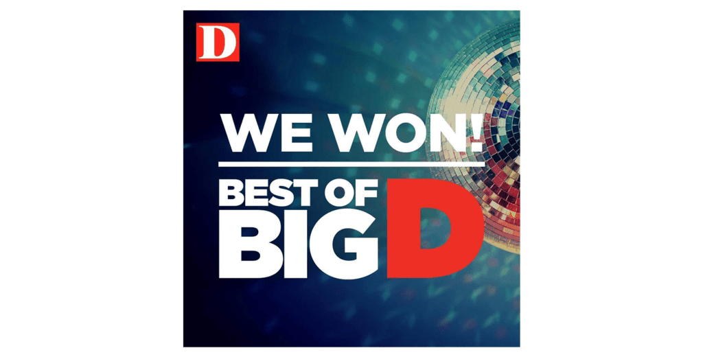 Asian Mint Named Big D Magazine's Best Thai Restaurant 2018