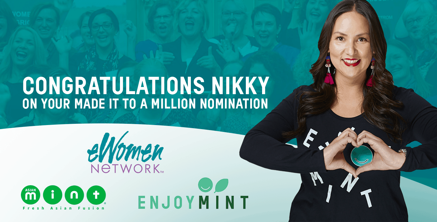 "eWomen Network NominatesChef Nikky for ""Made it to a Million"" Award"