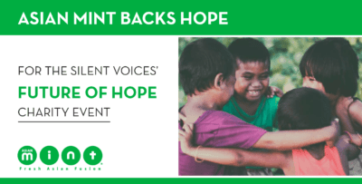 Asian Mint Backs Hope for the Silent Voices' Future of Hope Charity Event