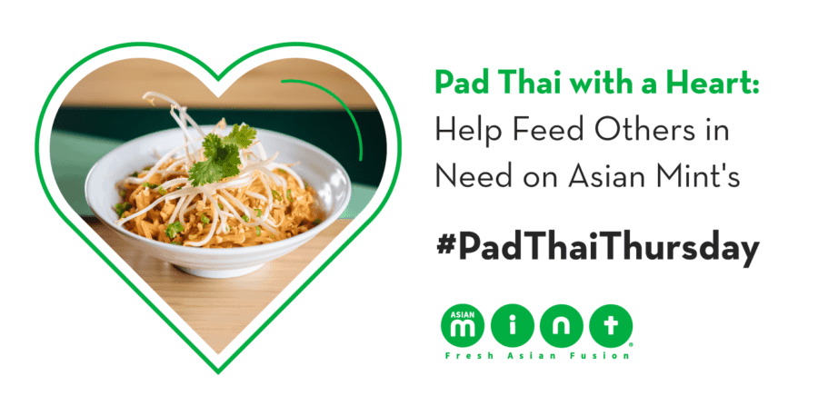 Asian Mint Prepping for #NationalPadThaiDay with #PadThaiThursday