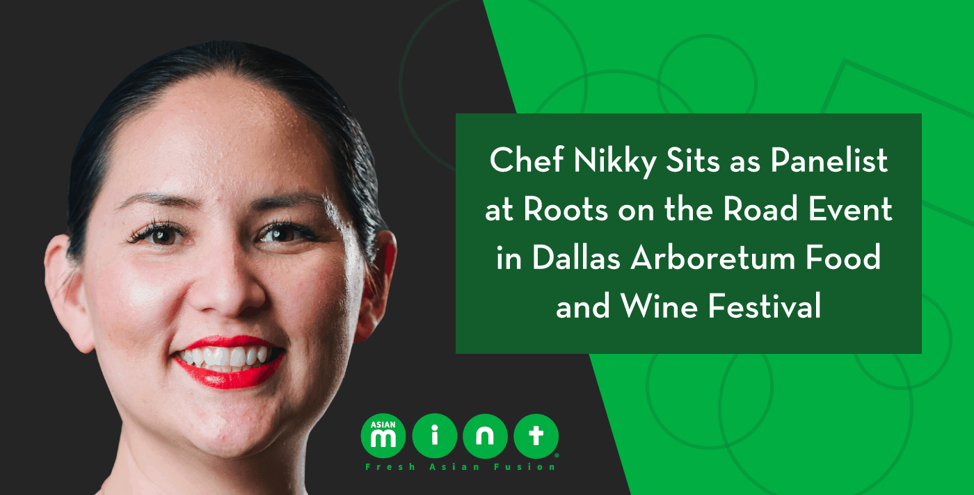 Chef Nikky Sits as Panelist at Roots on the Road Event in Dallas Arboretum Food and Wine Festival
